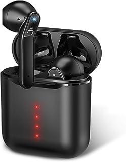 【2020最新Bluetooth5.1 瞬間接続】Bluetooth イヤホン Hi-Fi 高音質 蓋を開けて瞬間ペアリング 完全 ワイヤレス イヤホン 自動ペアリング 左右分離型 超小型 ブルートゥース イヤホン マイク付き CVC8.0ノイ...
