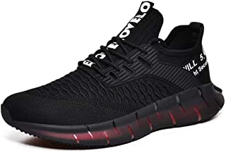 Mens Running Shoes Athletic Sneakers Breathable Lightweight Comfortable Walking Shoes