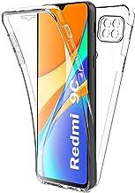 AURSTORE Coque pour Xiaomi Redmi 9C (6.53 Pouce) Protection intégrale Avant + Arrière en Rigide, Housse Etui Pochette Tactile Protection 360 degré - Antichoc