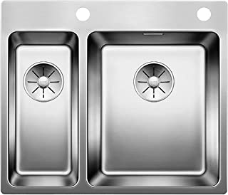 Blanco 522996聽Andano 340/180聽-聽If a satin stainless steel