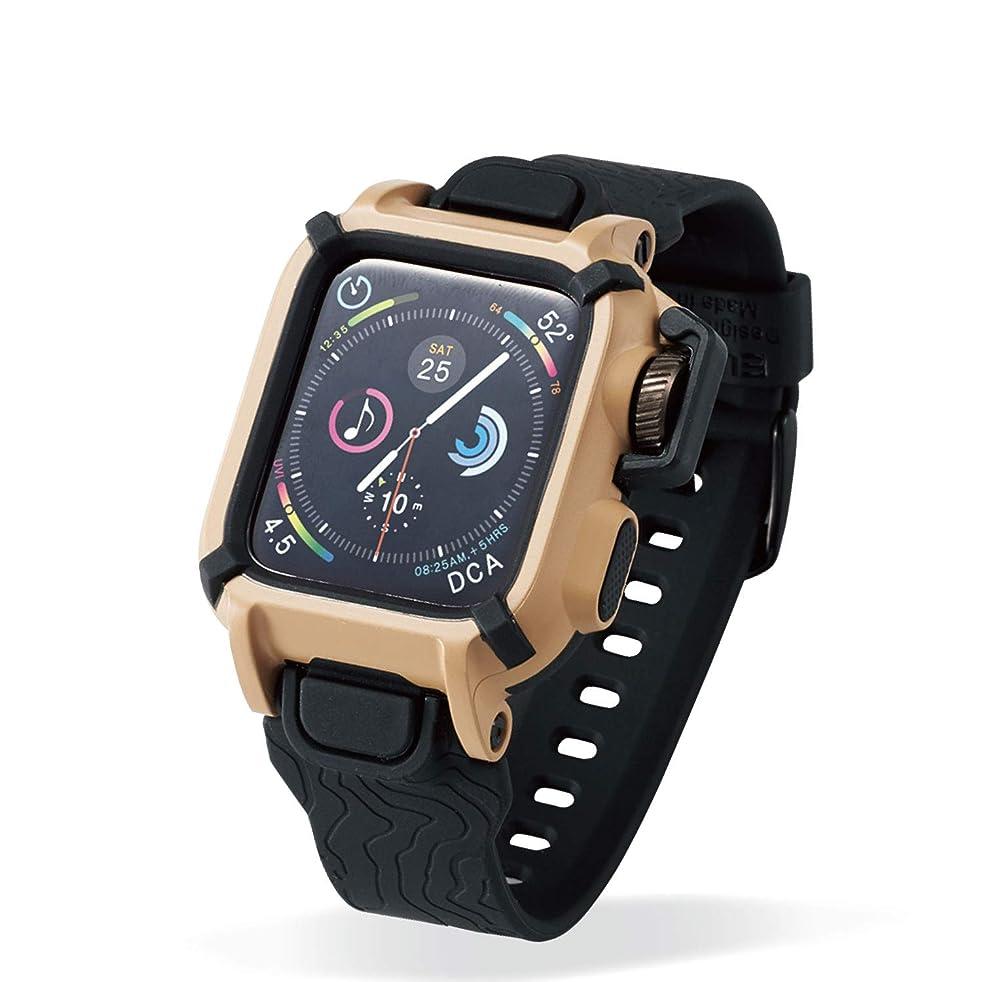 計算可能パイント血エレコム Apple Watch バンドケース 40mm NESTOUT カーキ AW-40BCNESTKH