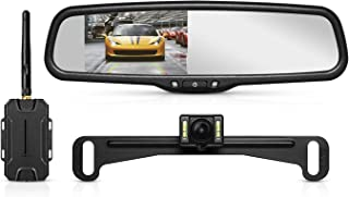 AUTO-VOX T1400 Upgrade Wireless Backup Camera Kit, Easy Installation with No Wiring, No Interference, OEM Look with IP 68 ... photo