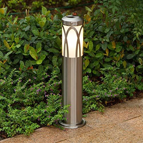 BJClight Clásico Simple Luces de césped de acero inoxidable Lámpara de pie impermeable al aire libre Lámpara de mesa Luces de jardín Hogar Parque Villa Luces de paisaje Luz d-UNA