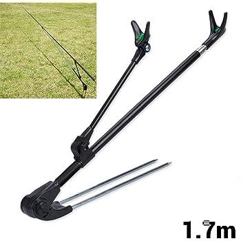 BSTCAR Fishing Rod Holder with Anti slip Ground Insert