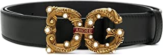 Luxury Fashion | Dolce E Gabbana Womens BE1335AK13380999 Black Belt |
