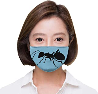 SARMY Ordinary Ant Breathable Mask for Men and Women with Adjustable Earloop