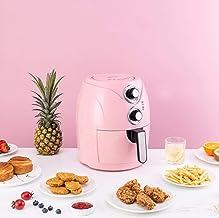 3.5L Air Fryer 1200W met digitaal display, timer en volledig instelbare temperatuurregeling voor gezonde olie vrij en veta...