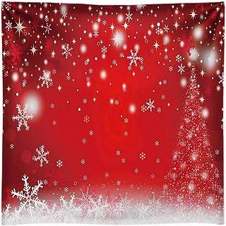 Funnytree Fotohintergrund aus strapazierfähigem Stoff, Rot, rot, 8'x8'