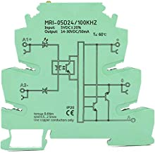 PLC Signal Converter Module Optocoupler Isolator High Speed Optical Coupling Protection Relay MRI-05D24 100KHZ