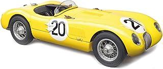 ジャガー C-Type #20 ロジャー・ローレン チャールズ・デ・トルナコ 1953年 ルマンズ フランス24時間「ジャガー・レーシングチーム限定版 1000ピース ワールドワイド 1/18 ダイキャストモデルカー CMC 194作