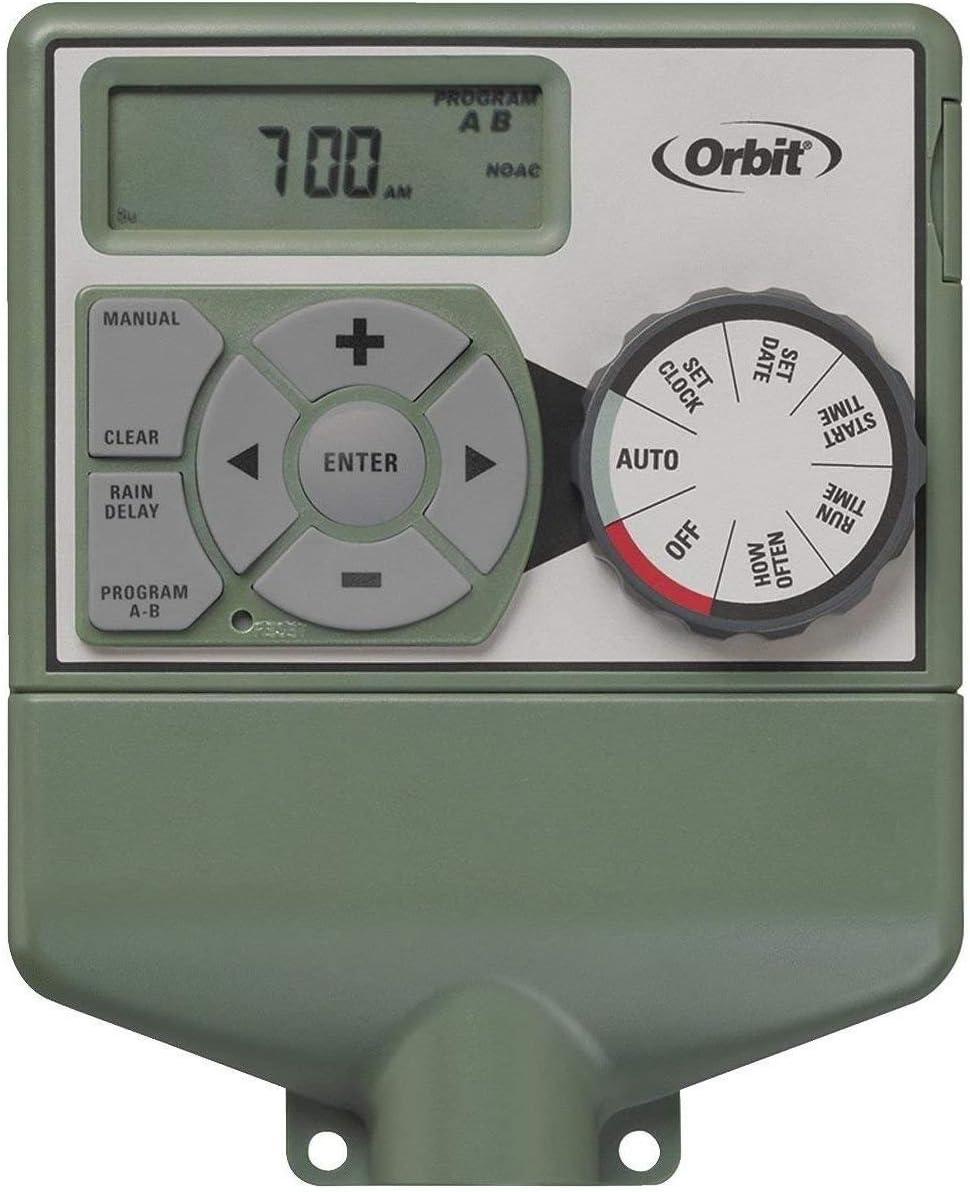 Orbit Easy-Set Logic Programmable 格安 買い取り Timer zone Sprinkler 6