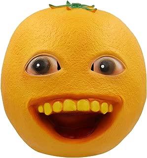 Bulex Annoying Orange Mask Cosply Latex Prop Toys