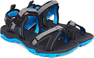 Wildcraft Men's Ridley Sandal Black UK 11