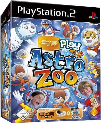 PS2 Eye Toy Astro Zoo (Software + Camera silber)