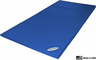 Resilite Tumbler Folding Mat Gymnastics Equipment and Sports Products – Cheer Tumble for Home Use – 4' Wide by 8' Long (Unfolded Size)