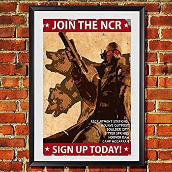 Fallout New Vegas Join the New California Republic NCR Original Art Print 11x17