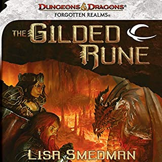 The Gilded Rune audiobook cover art
