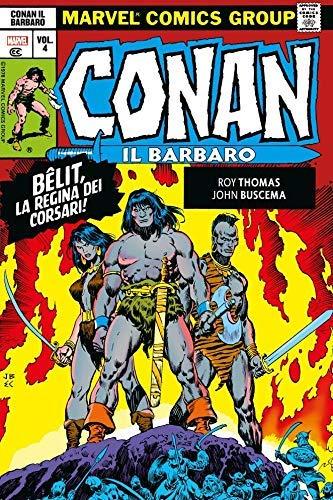 Marvel Omnibus - Conan Il Barbaro: L'Era Marvel N° 4 - Panini Comics - ITALIANO #MYCOMICS