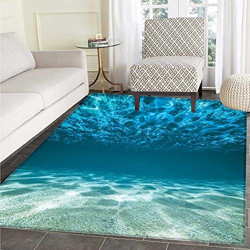 Ocean Floor Floor Mat