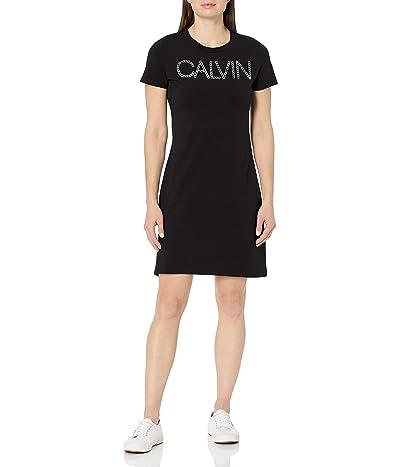 Calvin Klein Short Sleeve Calvn Logo Dress