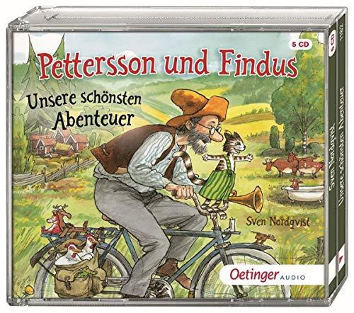 Pettersson und Findus: Unsere schönsten Abenteuer 5 CD