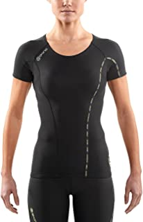 SKINS Womens DNAmic Women's Compression Short Sleeve Top