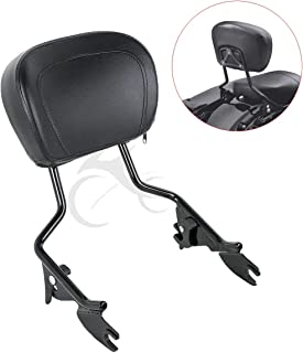 XFMT Detachables Sissy Bar Upright Backrest Sissy Bar Compatible with Harley Touring Street Glide Road King 2009-2019