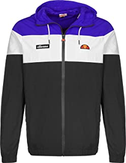 Ellesse Men's Mattar Track Jacket, Black