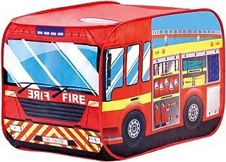 Bino & Mertens 82815 – brandmans, lektält, röd