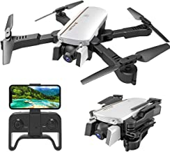 $69 » MIXI WiFi FPV Drones with Camera for Adults, Foldable RC Quadcopter Drone with 1080P HD Camera for Beginners, Altitude Hold, Gravity Control, Follow Mode, Headless Mode, One Key Take Off/Landing