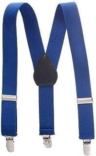 "LeCessoriz Childrens Suspenders (22"" inch, royal blue)"