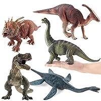 恐竜モデルのおもちゃ教育シミュレーション恐竜モデル子供子供のおもちゃ恐竜の贈り物クラシック恐竜の家の装飾子供の誕生日プレゼントかわいいティラノサウルスモデル (A)