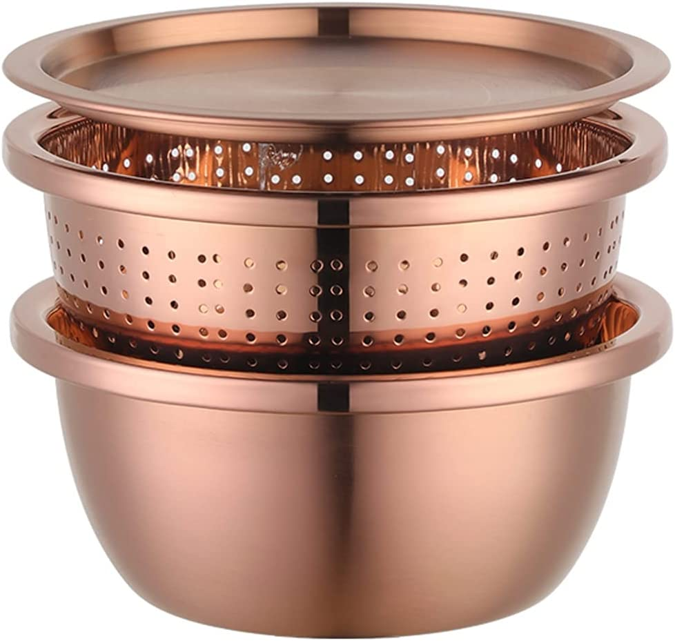 Stylish Colander Ranking TOP3 Bowl Set with Washing Lid Challenge the lowest price of Japan and 2-in-1 Strainer
