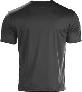 Men's Short Sleeve Double Dry T-Shirt, Black, Medium