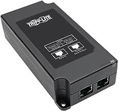 Tripp Lite Gigabit PoE+ Midspan Active Injector - IEEE 802.3at / 802.3af, 30W, 1 Port, Power Over Ethernet (NPOE-30W-1G)