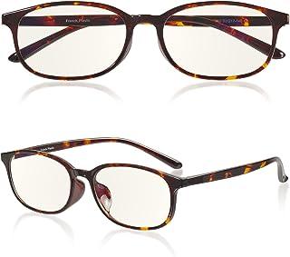 ROTAKUMA 【最新改良】 ブルーライトカット メガネ PC眼鏡 パソコン用 JIS規格 45% UVカット99.9% 超軽量12g ウェリントン型 おしゃれ 紫外線カット メンズ レディース ユニセックス 度なし 伊達めがね だてめがね