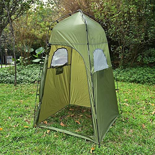 TUCHANG 210 Toneladas De Campamento Al Aire Libre, Tiendas De Campaña De Poliéster, Duchas.