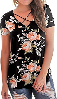 Office Shirt Women T-Shirt V Neck Crochet Loose Contrast Color Hollow Mesh Splicing Tops Camisa De T Das Mulheres