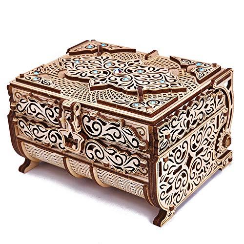 Wooden Trick Jewelry Box