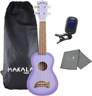 makala dolphin ukulele purple