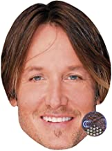 Keith Urban (Smile) Celebrity Mask, Card Face and Fancy Dress Mask