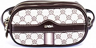 Saga Polyester Clutches Bag For Unisex - Beige