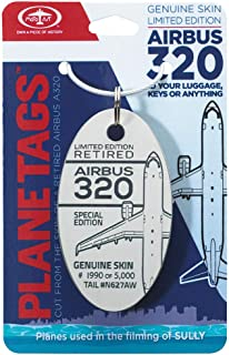 Planetags - US Airways A320 - Sully - Keychain
