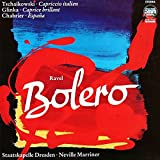Maurice Ravel , Pyotr Ilyich Tchaikovsky , Mikhail Ivanovich Glinka , Emmanuel Chabrier - Bolero, Capriccio Italien, Caprice Brilliant, España - ETERNA - 7 29 264
