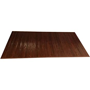 Natural Bamboo Floor Mat - Elegant Bath Mats, Nonslip kitchen rug, Bedroom decor, Living room runner, Quality wood safe for people and pets, Indoor rugs alternative, medium and large size, Natural
