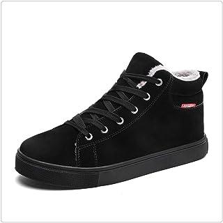 Queixiw New Winter Shoes Comfortable Fur Mens Boots Fashion Super Warm Shoe