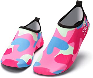 Nclon Hombres Mujer Ni/ños Antideslizante Zapatos De Agua,Descalzo Aqua Calcetines Aqua Skin Shoes Yoga Piscina Piscina Navegando