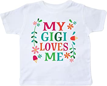 PBS Kids inktastic My Gigi Loves Me with Dee Toddler T-Shirt