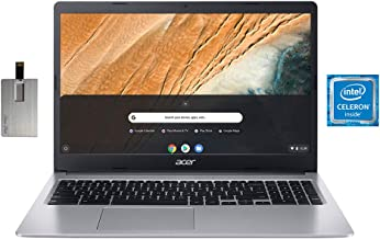 "2020 Acer Chromebook 315 15.6"" HD Display Laptop Computer, Intel Dual-core Celeron N4000, 4GB RAM, 32GB eMMC, HD Webcam, I..."