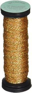 Kreinik No.4 Very Fine Metallic Braid, 12-Yard, Golden Chardonnay